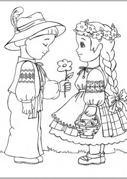 Рисунок танец для детей
