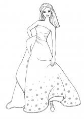Раскраски Барби | Персонажи, герои, принцессы, скачать и ...