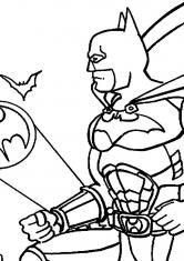 Раскраска Зов Бэтмена