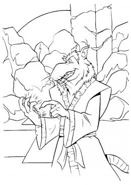 Раскраска Сенсей черепашек-ниндзя, скачать и распечатать ...