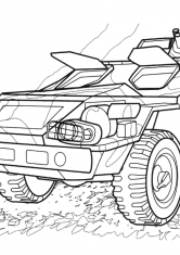 Раскраска БМП-97