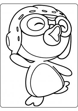 Раскраски с пингвинами - распечатать бесплатно | 368x260