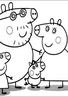 Свинка Пеппа - Рождество Пеппы -часть 1 - клип
