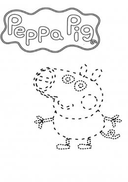 раскраски свинка пеппа зарубежные мультфильмы сказки