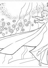 раскраски холодное сердце дисней мультфильмы сказки