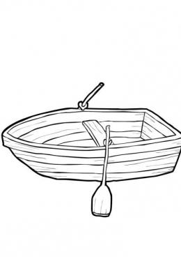 Раскраски лодки картинки