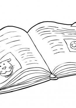 Раскраски онлайн книжки