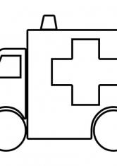 Раскраска Скорая медицинская помощь