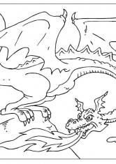 раскраски динозавры драконы животные рыбы насекомые