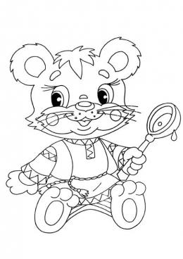 мишка очень любит мед почему