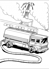Раскраски грузовой автомобиль