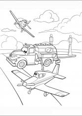 раскраски самолеты мультфильм дисней мультфильмы сказки