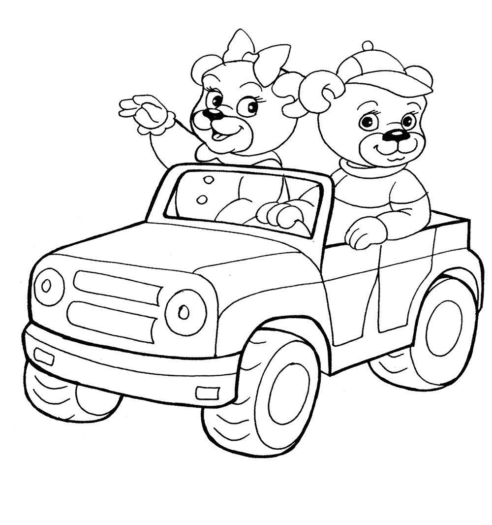 Детские раскраски для ребенка от 4 до 40