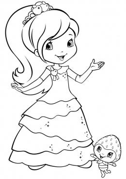 Платье шарлотты землянички