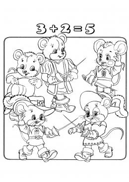 Раскраски из мультфильма Жизнь жуков или Приключения Флика (Bug's ... | 368x260