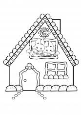 Раскраска Дом Макса и Руби