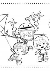 раскраски умизуми зарубежные мультфильмы сказки аниме