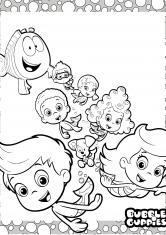 Раскраски Гуппи и пузырики | Зарубежные | Мультфильмы ...
