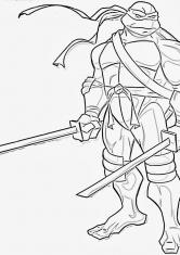 Раскраска для мальчиков черепашка ниндзя