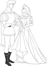 раскраска принцессы распечатать