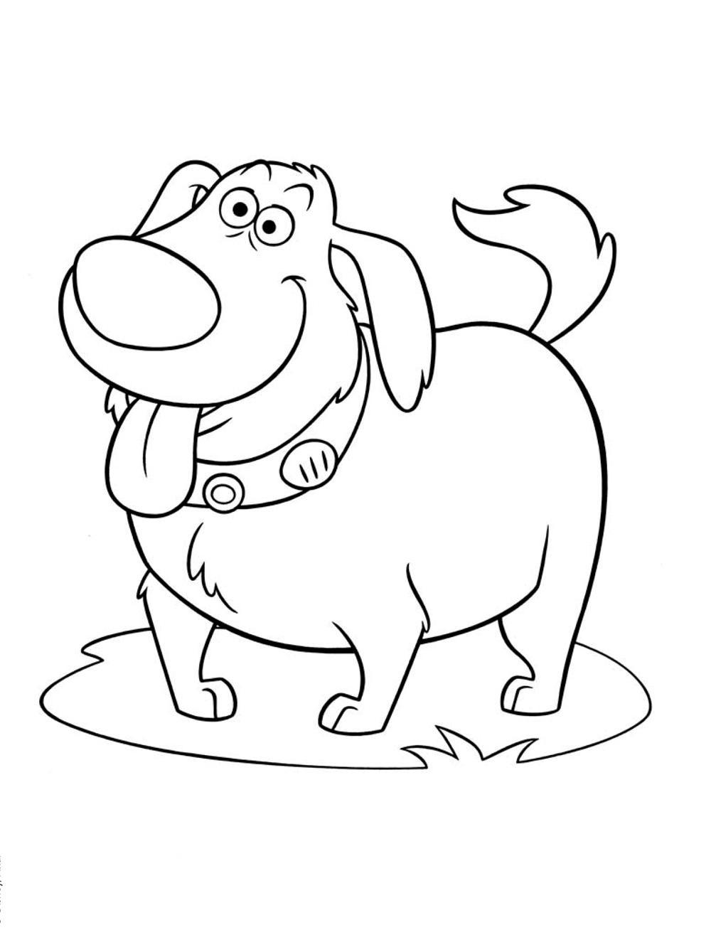 Моя собака - razukrashki.com