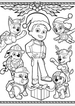 раскраски щенячий патруль зарубежные мультфильмы сказки