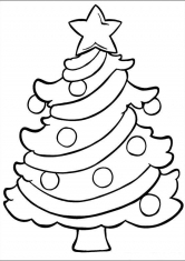 Раскраски Новый год, елки, подарки, скачать и распечатать ...