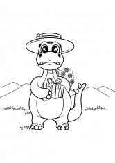 Раскраски Динозавры, драконы | Животные, рыбы, насекомые ...